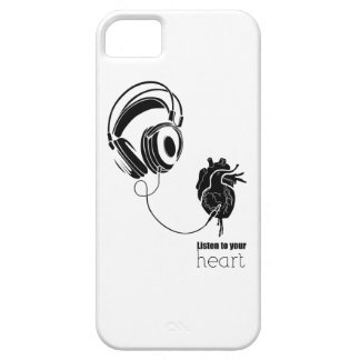 Heart lists to your iPhone 5 case