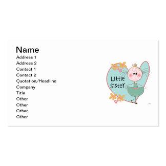 Heart Little Sister Business Card
