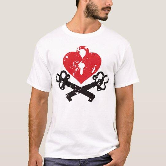 Heart Lock and Keys T-Shirt