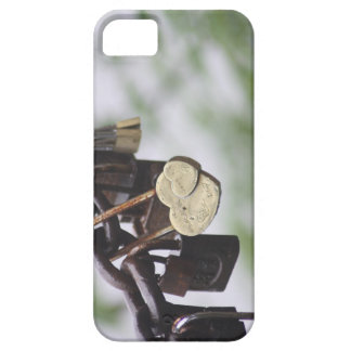 Heart Lock Love to Last a Lifetime iPhone SE/5/5s Case