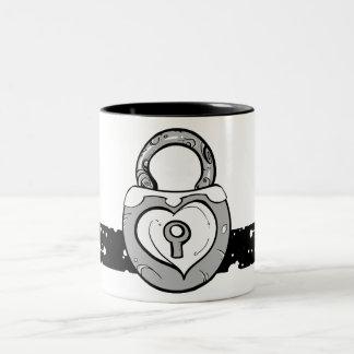 Heart Lock Mug