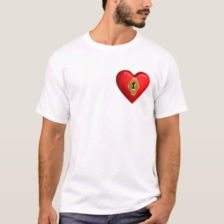 heart lock t-shirt