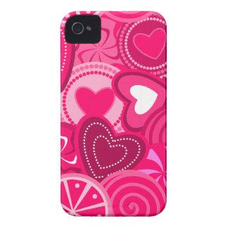 Heart Lollipops Design iPhone 4/4S Case