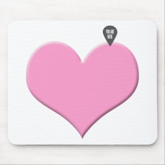 Heart Love and Valentine's day Mouse Pad