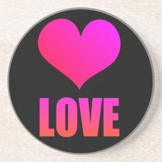 HEART/ LOVE DRINK COASTER