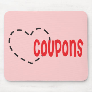 Heart - Love - Coupons Mouse Pad