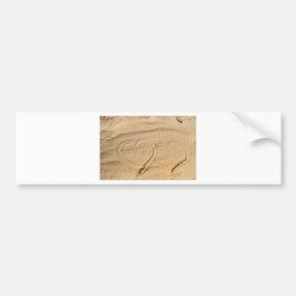 heart love custom personalize Anniversaries Bumper Sticker