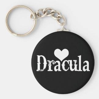 Heart (love) Dracula Keychain