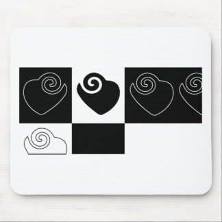 heart, love , friendship , family, relationships mouse pad
