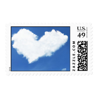 heart love hearts custom personalize Anniversaries Postage Stamp