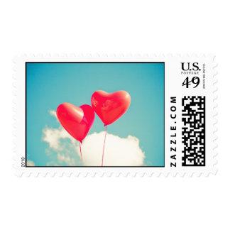 heart love hearts custom personalize Anniversaries Stamp