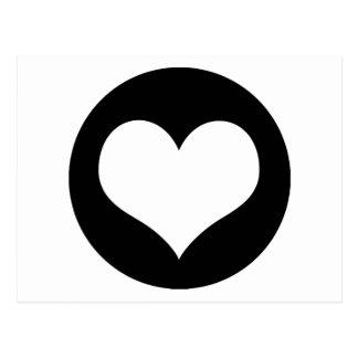 Heart Love Ideology Postcard
