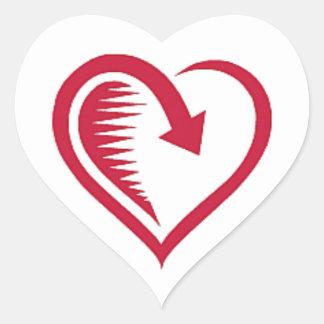 Heart Love is Returned Envelope Seal