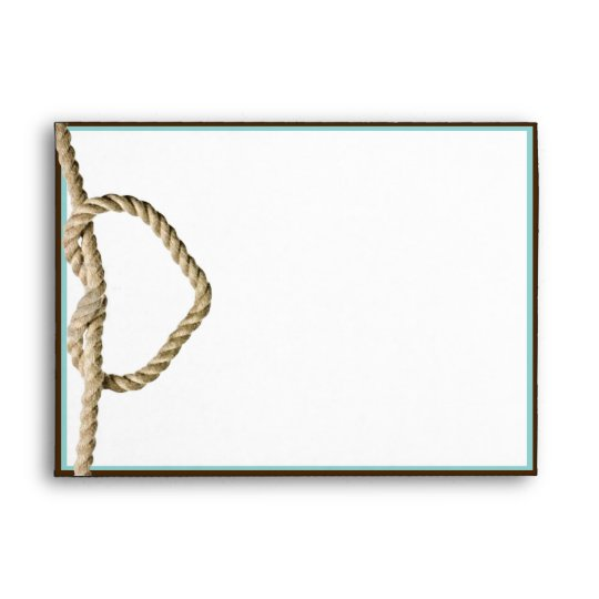 Heart Love Knot Western Wedding Envelope