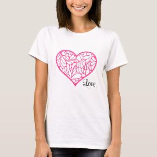 Heart Love Ladies T-Shirt