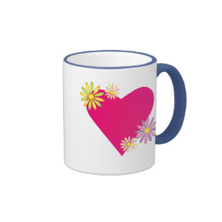 Heart Love Romance Gifts and Gear Ringer Mug