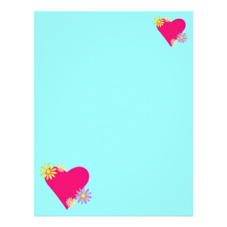 Heart Love Romance Stationery