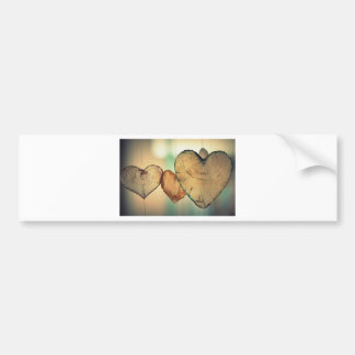Heart Love Romance Valentine Romantic Harmony Bumper Sticker