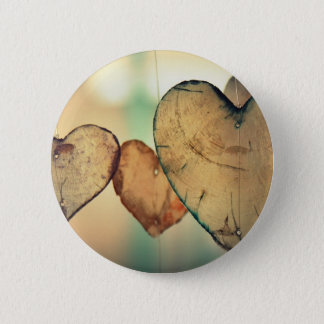 Heart Love Romance Valentine Romantic Harmony Pinback Button