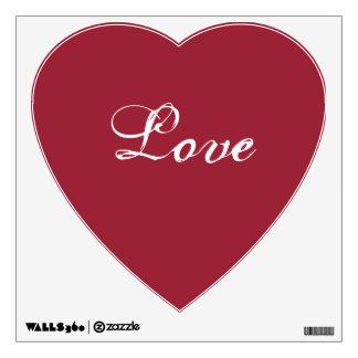 Heart Love romantic date rsvp bridal wedding Wall Sticker