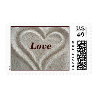 Heart Love Stamps