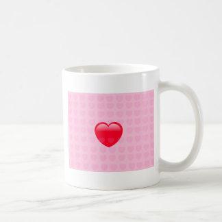 HEART & LOVE SYMBOL COFFEE MUG