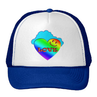 Heart Love Trucker Hat