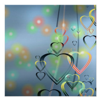 Heart Love Perfect Poster