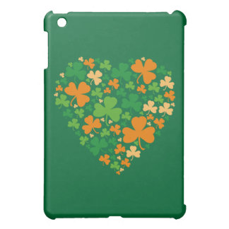Heart made with Clovers Cover For The iPad Mini