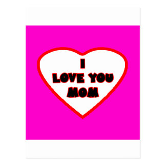Heart Magenta Transp Filled The MUSEUM Zazzle Gift Postcard