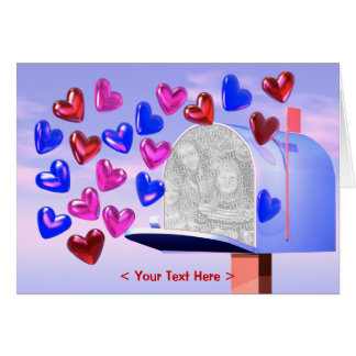 Heart Mail 2 (photo frame) Card