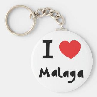 Heart Malaga Keychain