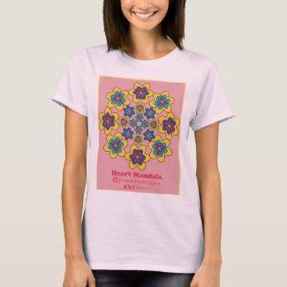 Heart Mandala 3 Heart Petals shirt