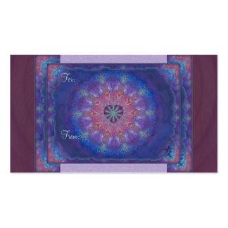 Heart Mandala Business Card