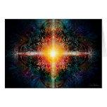 Heart Mandala Colors 3 Greeting Card