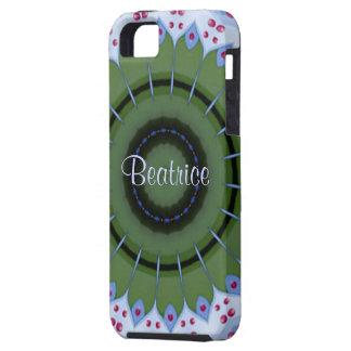 Heart Mandala iPhone 5 Case