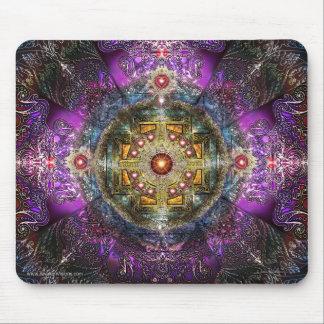 Heart Mandala Mouse Pad
