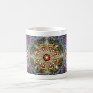 Heart Mandala Coffee Mug
