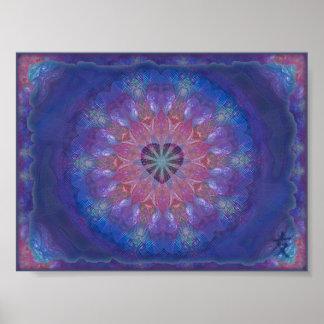 Heart Mandala Print