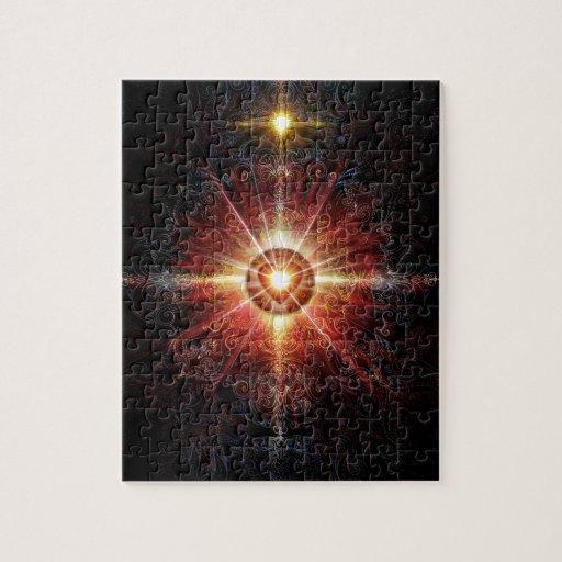 Heart Mandala Red 2013 Puzzles
