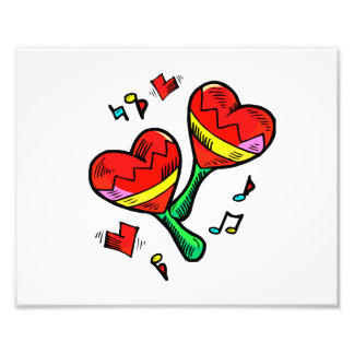 heart maracas music love image art photo