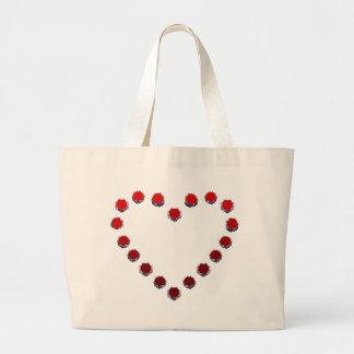 heart mark キャンバス地カバン