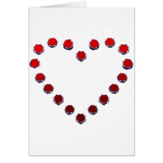 heart mark グリーティング・カード