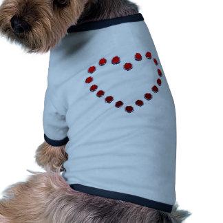heart mark ドッグTシャツ