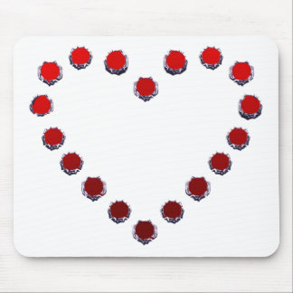 heart mark マウスパッド