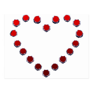 heart mark ポストカード
