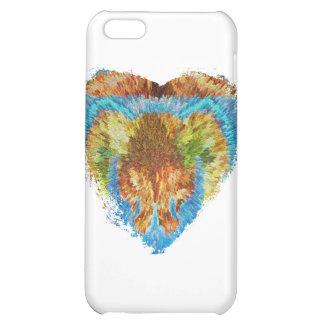 Heart Matters: My Rainbow Heart iPhone 5C Case