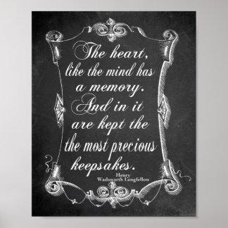 Heart Memory Poster