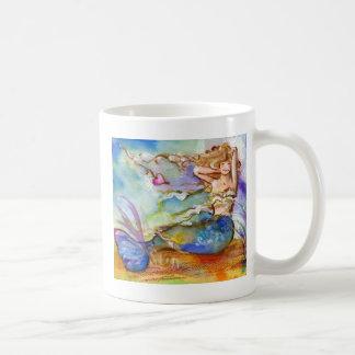 Heart Mermaid Classic White Coffee Mug