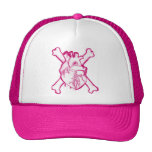 Heart Mesh Hat